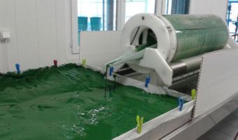 Filtration Spiruline