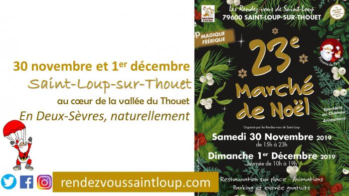 Marché de Noël de St Loup sur Thouet