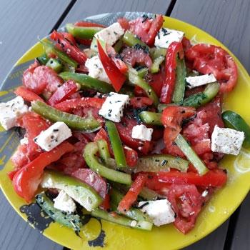 Salade Grecque Spiruline