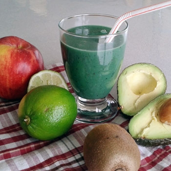 Smoothie Avocat Spiruline