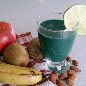 Smoothie Végan Spiruline